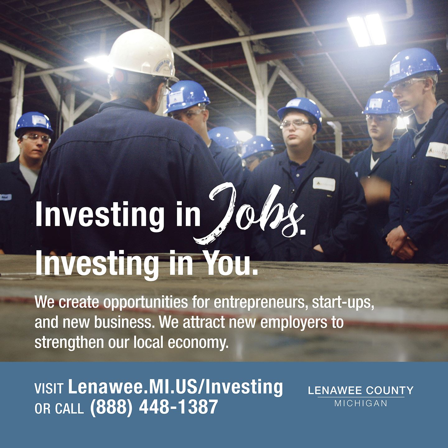 Investing in Jobs by Creating Opportunities