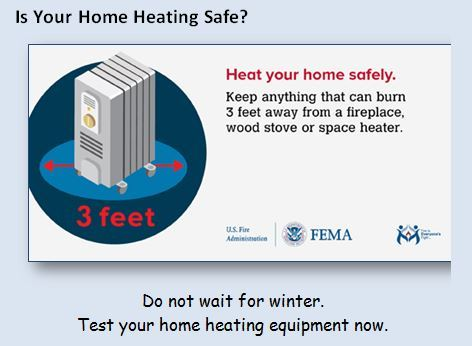 Is your home heating safe