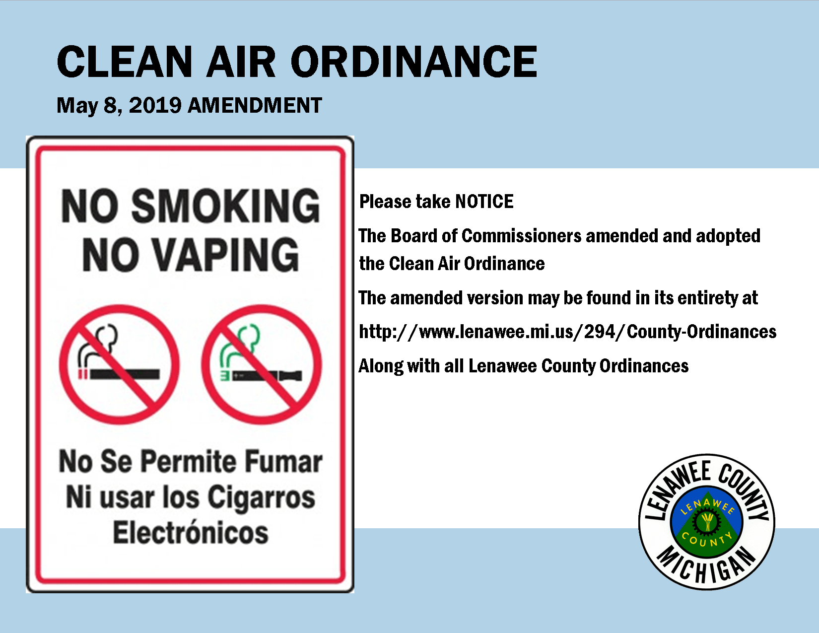 Clean Air Ordinance