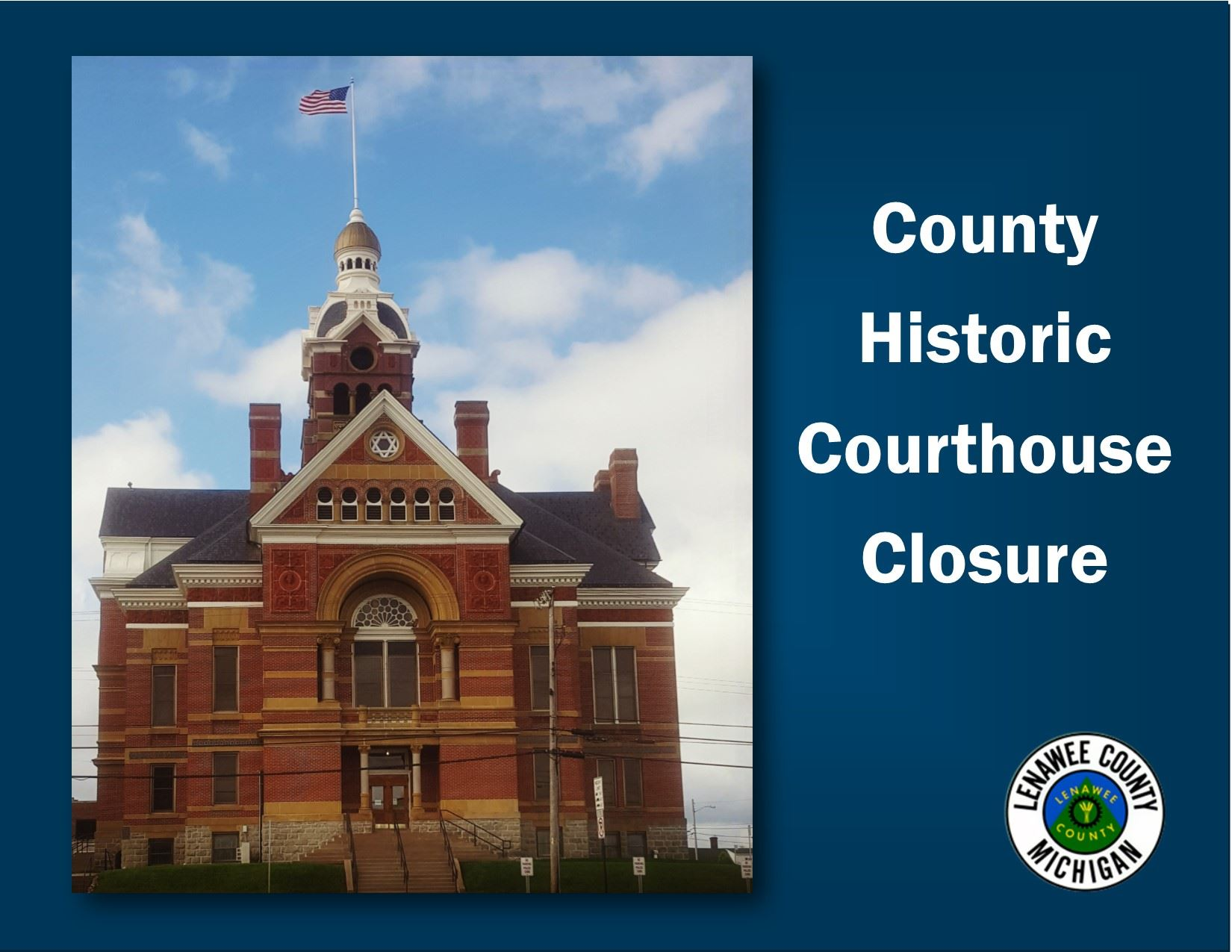 Lenawee County historic courthouse