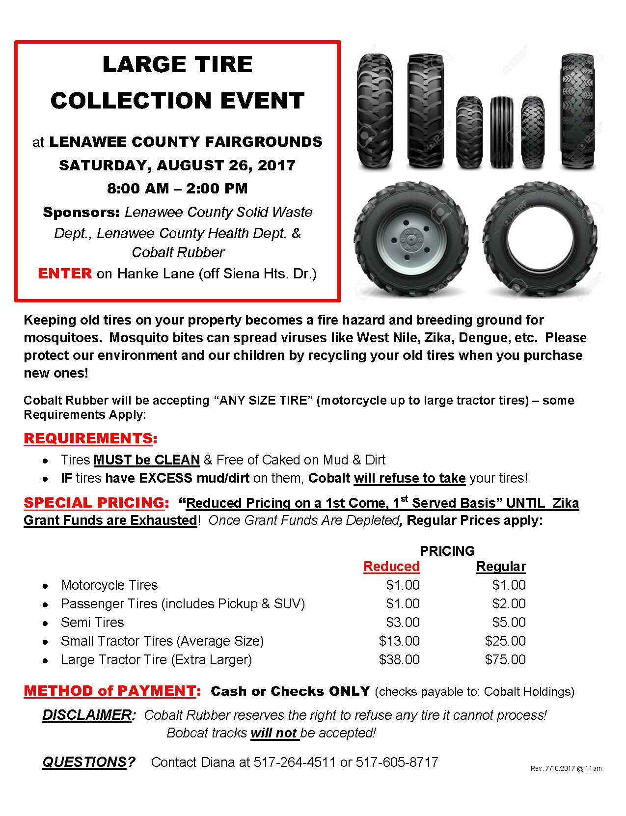 LG TIRE EVENT