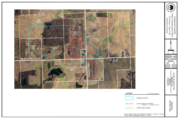 Bailey Tile West Branch District Map