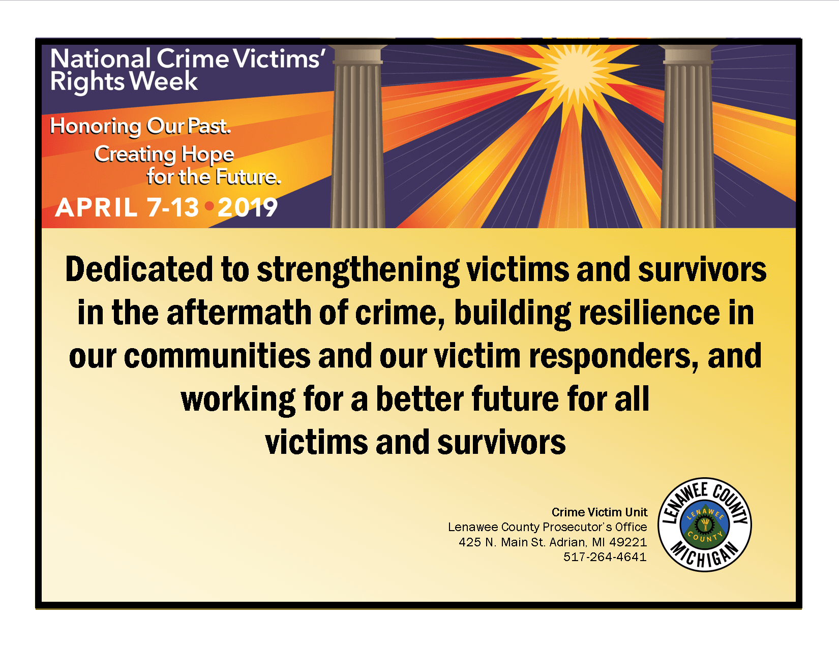 Crime Victim Rights Week